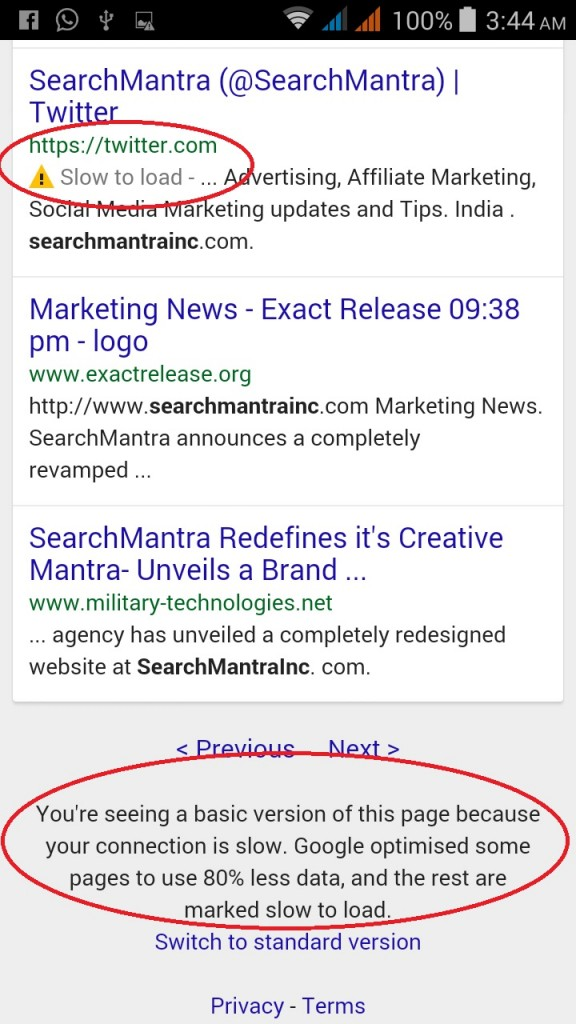 Google's Mobile Update 21 April SERP Changes
