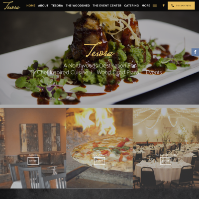 Restaurant Website with Menu & Bookings